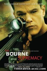Poster Film The Bourne supremacy