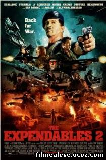 Poster Film The Expendables 2 (2012)