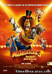 Poster Film Madagascar 3: Europe's Most Wanted