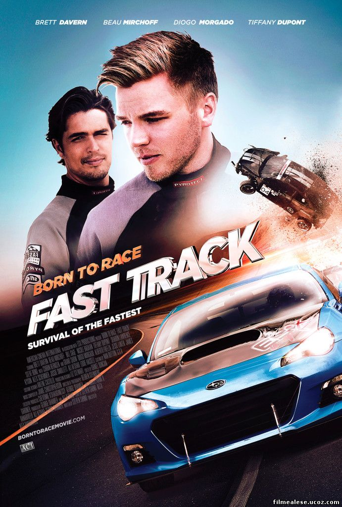 Poster Film Born to Race: Fast Track